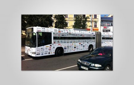 Bus Wrapping Design